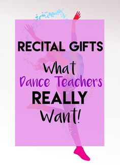 Looking for a Dance Teacher gift? We went straight to the souce and asked SEVEN dance teachers what gifts they really wanted at the end of the year, here's what they said! Diy Dance Gifts, Dance Teacher Gifts, Dance Crafts, Teacher Christmas Gifts, Teacher Appreciation Gifts, Dance Team Gifts, Teacher Presents, Employee Appreciation, Diy Gifts