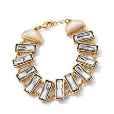 FOREVER Selected by Paula Abdul Hollywood Glamour Faceted Bracelet