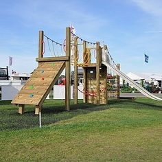 Multi-play Station - Playground Equipment http://www.fenlandleisure.co.uk/products/fe5001-ranch-unit/