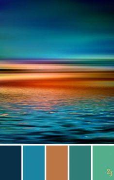 19 New ideas for craft room colors palette colour schemes Color Schemes Colour Palettes, Colour Pallette, Color Palate, Color Trends, Color Combos, Rust Color Schemes, Beach Color Palettes, Paint Schemes, Sunset Color Palette