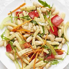 Amp up your BBQ with this next-level sweet and tangy pasta salad. Click through for this summer pasta salad recipe.