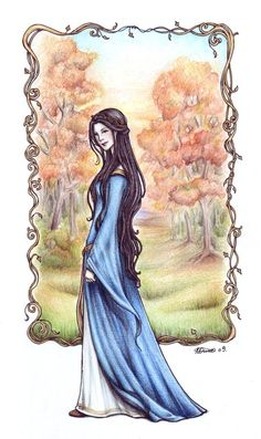 Queen Susan by ~Achen089 on deviantART- gotta learn to use color pencils like that!...