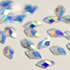 Find More DIY Craft Supplies Information about AB Diamond 6x10mm 72pcs Shiny  Rhinestone AB Nail Art 914bc738c657