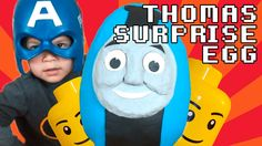 Thomas the Train Giant Play Doh Easter Surprise Egg ft Thomas Minis and ...