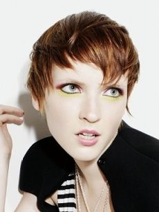Short Choppy Bangs Hairstyles - Want choppy bangs but can't decide which style to choose? Then the latest trends will reveal that choppy bangs are one of the most popular looks sported both by fashion forward people and celebrities. If you are confident with your assets and are eager to impress, don't hesitate to get the most stylish short choppy bangs hairstyles.