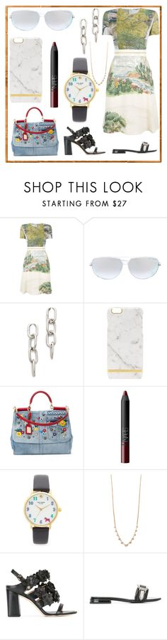 """Just be cool"" by denisee-denisee ❤ liked on Polyvore featuring STELLA McCARTNEY, Dita, Alexander Wang, Dolce&Gabbana, NARS Cosmetics, Kate Spade, Jacquie Aiche, Tory Burch and Toga"