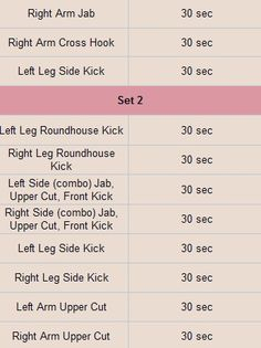muay thai conditioning routine pdf