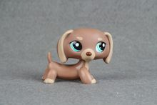 Original LPS Kids Toy #1751 Dachshund Dog Chien Teckel Puggy Collection figure toys(China (Mainland))
