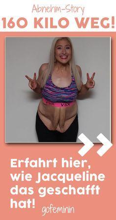 Diese Frau verlor fast 160 kg - und zeigt nun anderen, wie sie das geschafft hat! #abnehmen #diät