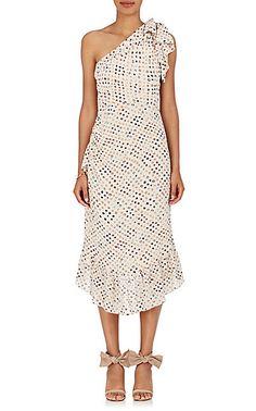 Ulla Johnson Imogen Shibori Silk Dress - Dresses - 505216566