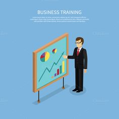 Business Taining Concept by robuart on @creativemarket