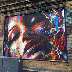 David Walker New Mural In London StreetArtNews