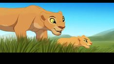 Sarafina teaching Nala how to prowl The grass was a pain and I don't even like it! Sarafina and Nala (c) Disney Art (c) me Sarafina And Nala Lion King 1, Lion King Fan Art, Disney Lion King, King Art, The Lion King Characters, Simba And Nala, Le Roi Lion, Cute Disney Wallpaper, Disney And Dreamworks