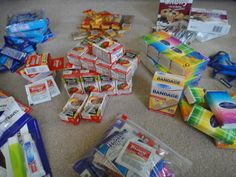 Blessing Bags for the Homeless {to Keep in Your Car} Using Dollar Store Items