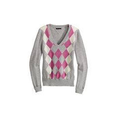 TOMMY HILFIGER Online Store - USA - Cashmere Argyle Sweater ❤ liked on Polyvore featuring tops, sweaters, argyle, blusas, chompas, argyle sweater, tommy hilfiger sweater, cashmere sweater, tommy hilfiger and cashmere tops