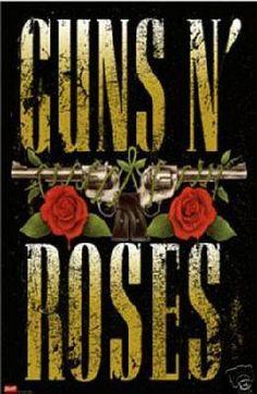 GUNS N ROSES ART PRINT ~ 24 X 36
