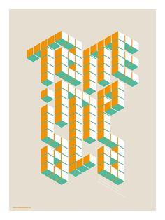Tame Impala Tour Poster @ Bill Green Studios