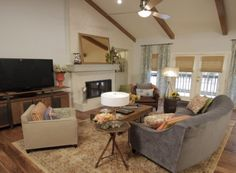 Property Brothers Living Room Remodel: Season 2: Episode 24 – Sophie & Preston | The Scott Brothers