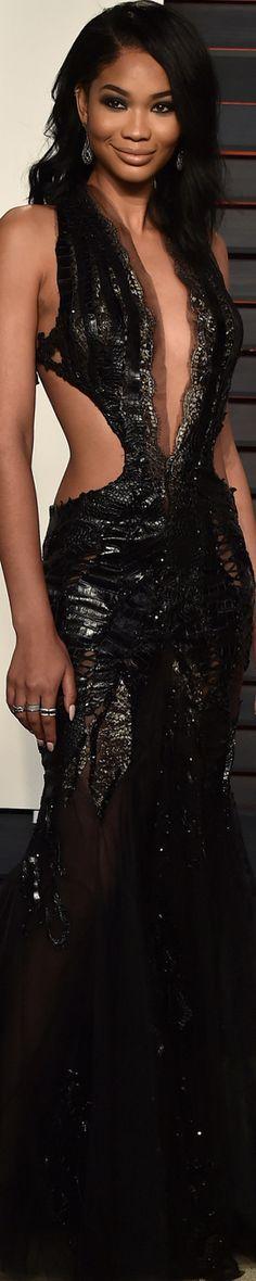 Chanel Iman 2016 Vanity Fair Oscar Party
