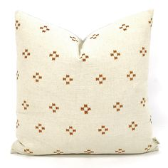 Alternating cross-inspired batik designs add a touch of nomadic flair to this handmade, hand-dyed pillow. The back panel of the pillow features a solid natural linen. Queen Bedding Sets, Luxury Bedding Sets, Linen Bedding, Bedding Shop, Bed Linen, Comforter, Beige Sectional, Bedding And Curtain Sets, Velvet Furniture
