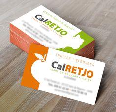 Disseny d'imatge corporativa CAL RETJO venda de fruita i carn de corder de qualitat