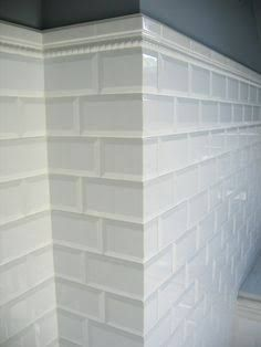 how to tile corners with subway tile - Google Search ...
