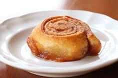 Baby Cinnamon Buns made from crescent rolls