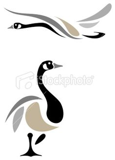 canadian goose abstract drawing - would be a great applique Bird Drawings, Abstract Drawings, Gans Tattoo, Goose Drawing, Bird Stencil, Stencil Patterns, Native Art, Fabric Painting, Bird Art
