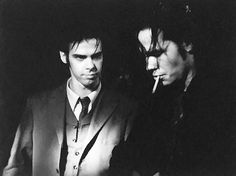 Nick Cave and Hugo Race Melbourne 1988