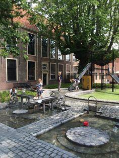 Waterpret in Museum Boerhaave.