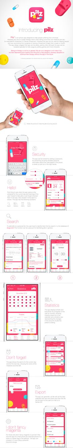 Pilz | iphone app on Behance