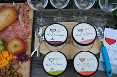 Host It: Fall Happy Hour at Home Featuring Wine Ice Cream