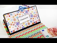 (4) DIY : Mini Album Para Guardar Tus Ahorros (Scrapbook) - Brotes De Creatividad - YouTube