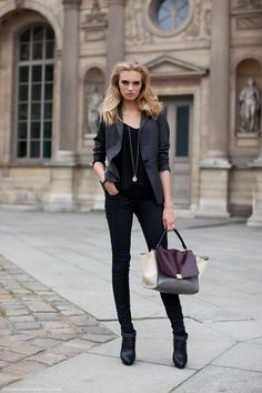 Romee Strijd by Stockholm Streetstyle