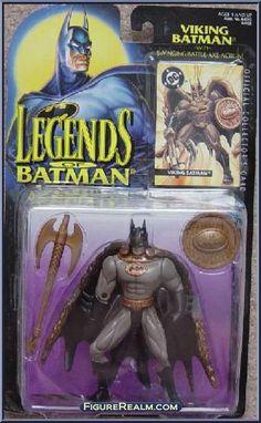 Kenner Legends of Batman Series 2 Batman (Viking) Figure 1995