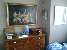 Pintura francesa encontrado en `Portobello
