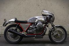 ϟ Hell Kustom ϟ: Moto Guzzi Le Mans 1 1978 By Dragoni Moto