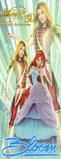 King sky & Princess Bloom