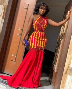 African Prom Dresses, Latest African Fashion Dresses, African Dresses For Women, African Print Fashion, African Attire, African Lace Styles, African Style, Kente Dress, Kente Styles
