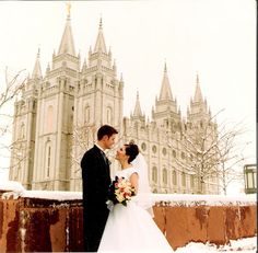 LDS Weddings are amazing - the best!    #EternalMarriage #MormonLink