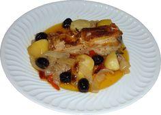 Arroz de Minhoca: Bacalhau Assado