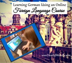 Learning German using an Online Foreign Language Course