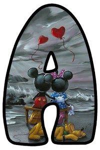 Abecedario de Minnie y Mickey Enamorados. Minnie and Mickey in Love Alphabet. Arte Do Mickey Mouse, Mickey Mouse Y Amigos, Mickey Mouse Design, Mickey Mouse And Friends, Minnie Mouse Party, Mickey Minnie Mouse, Crazy Wallpaper, Funny Iphone Wallpaper, Arte Disney
