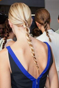 ponytail twists.