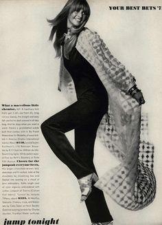 Vogue editorial, 1971  #vintage #vintage fashion #70s