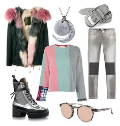 """""""Pink world"""" by katecrazyfox on Polyvore featuring Mr & Mrs Italy, Ports 1961, Karl Lagerfeld, Paige Denim and Linda Farrow"""