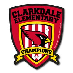 Custom car magnet custom shaped Cardinal champions magnet!