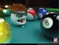 Billiards Cue Ball. www.designerbilliards.co.uk