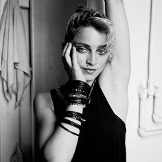 She never shied away from make up. | These Photos Of Madonna In Her Prime Are Unreal