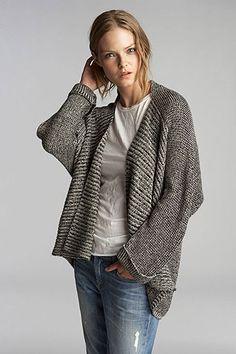 Dakota Oversized Cashmere Blend Cardigan by Velvet